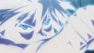 131 - Killua destroys Pouf's clone
