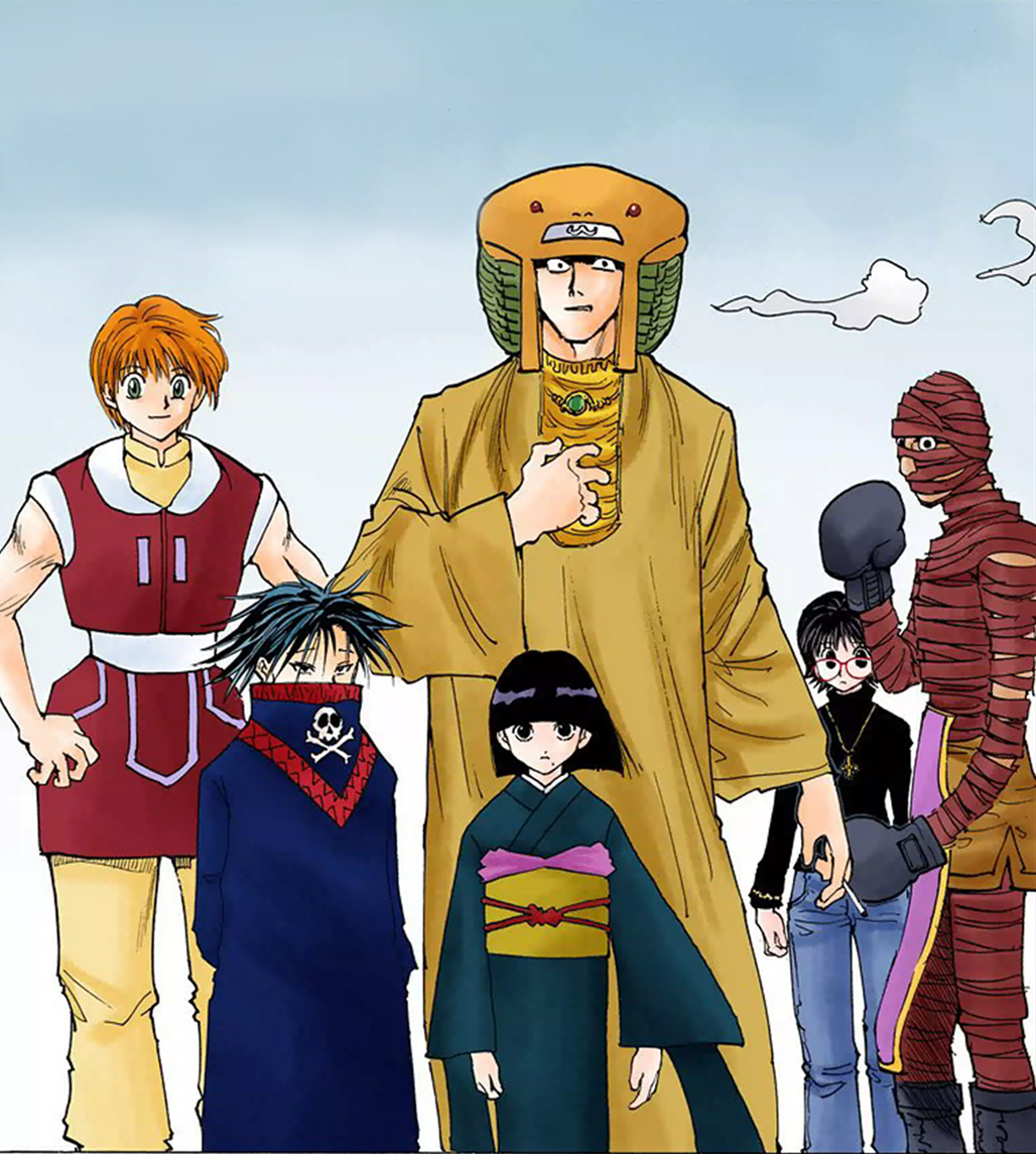 Image - Phantom Troupe In Meteor City.png