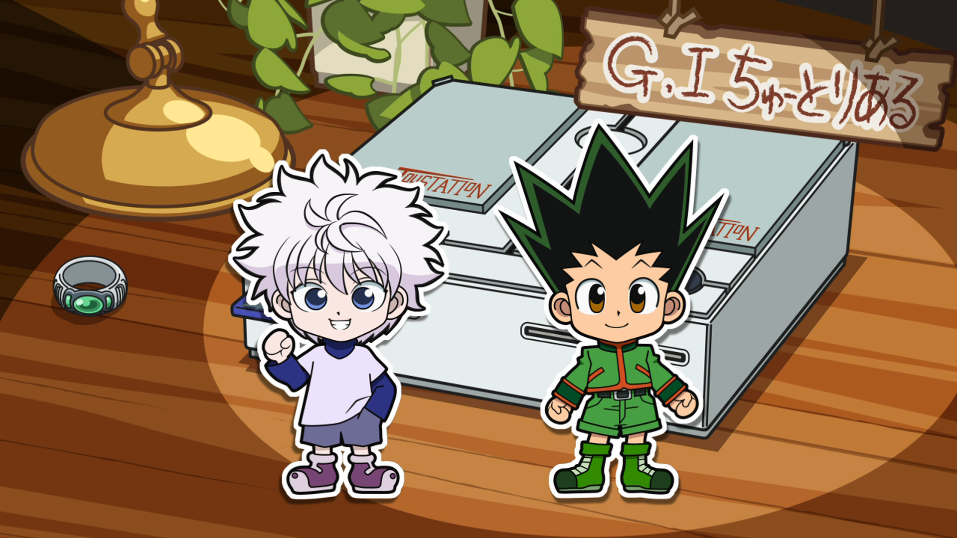 Image result for hunter x hunter greed island tutorial