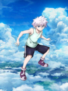 Killua portrayal in Shironeko Project