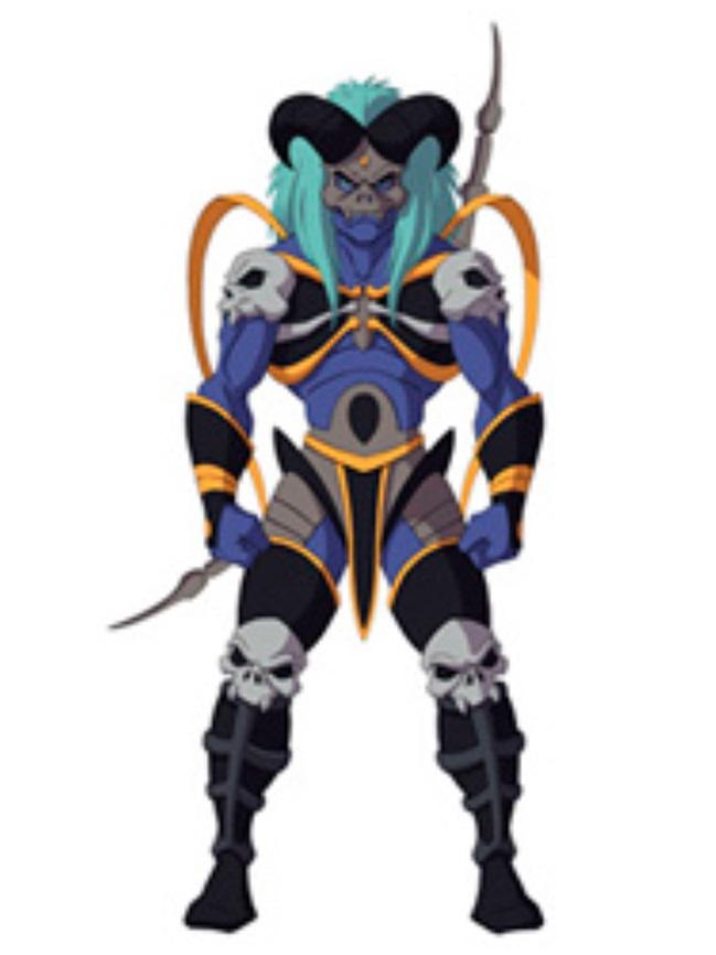 Huntik Titans Cursed_Archer