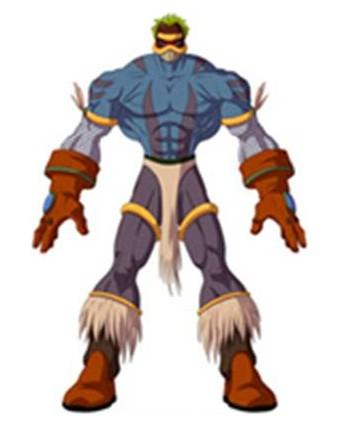 Huntik Titans Firbolg