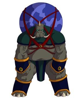 Huntik Titans Behemoth
