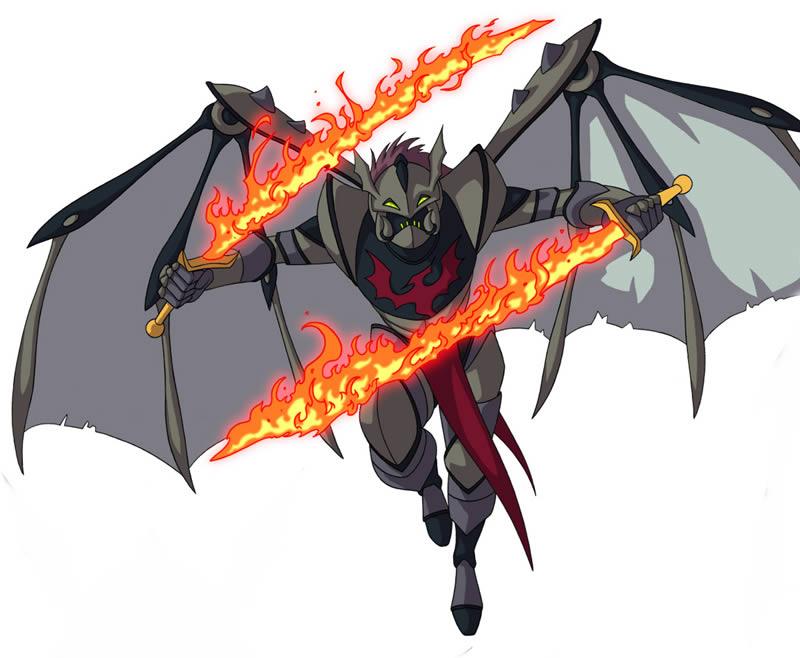Huntik Titans Cavalier