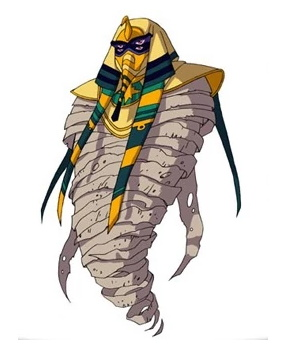 Huntik Titans Dark_Pharaoh