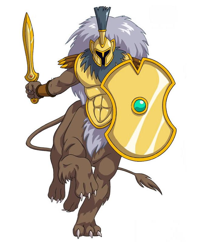 Huntik Titans Hoplite