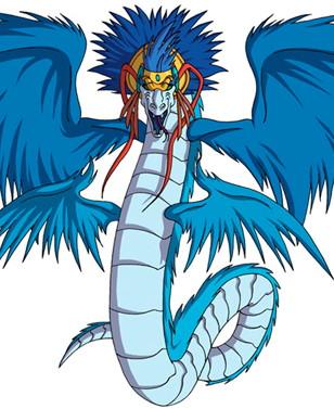 Huntik Titans Quetzalcoatl_profile