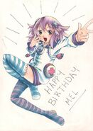Mel s birthday present by incarnadinexdreamer-d4vvj1w