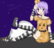 Hyperdimension neptunia halloween contest 2012 by infinitemoon2-d5j6k2r