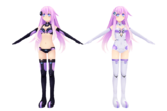 Hyperdimension neptunia mkii purple sister by xxnekochanofdoomxx-d5nz0lo