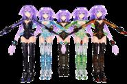 Hyperdimension neptunia mkii purple heart by xxnekochanofdoomxx-d5ny8db