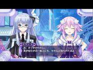 Rei talking to neptune