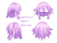 Hyperdimensiopn neptunia neptune hair view by punipunicheeks-d5ja9ql
