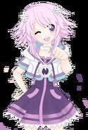 Neptunia v brofist by chocoemerald-d4wlrpi