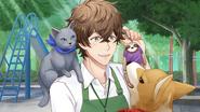 (Part-time Job Scout) Futami Akabane SR 4