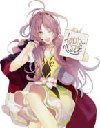 (The Autograph and Mini Live) Kokoro Hanabusa GR Transparent