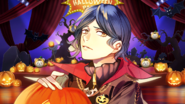 (Halloween scout) Aoi Kakitsubata SR affection story 4