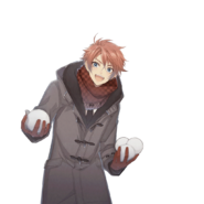 (Snowy Day Scout) Ban Jumonji LE Transparent