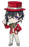 (X'mas 2016 Scout) Kuro Yakaku SD Kiss