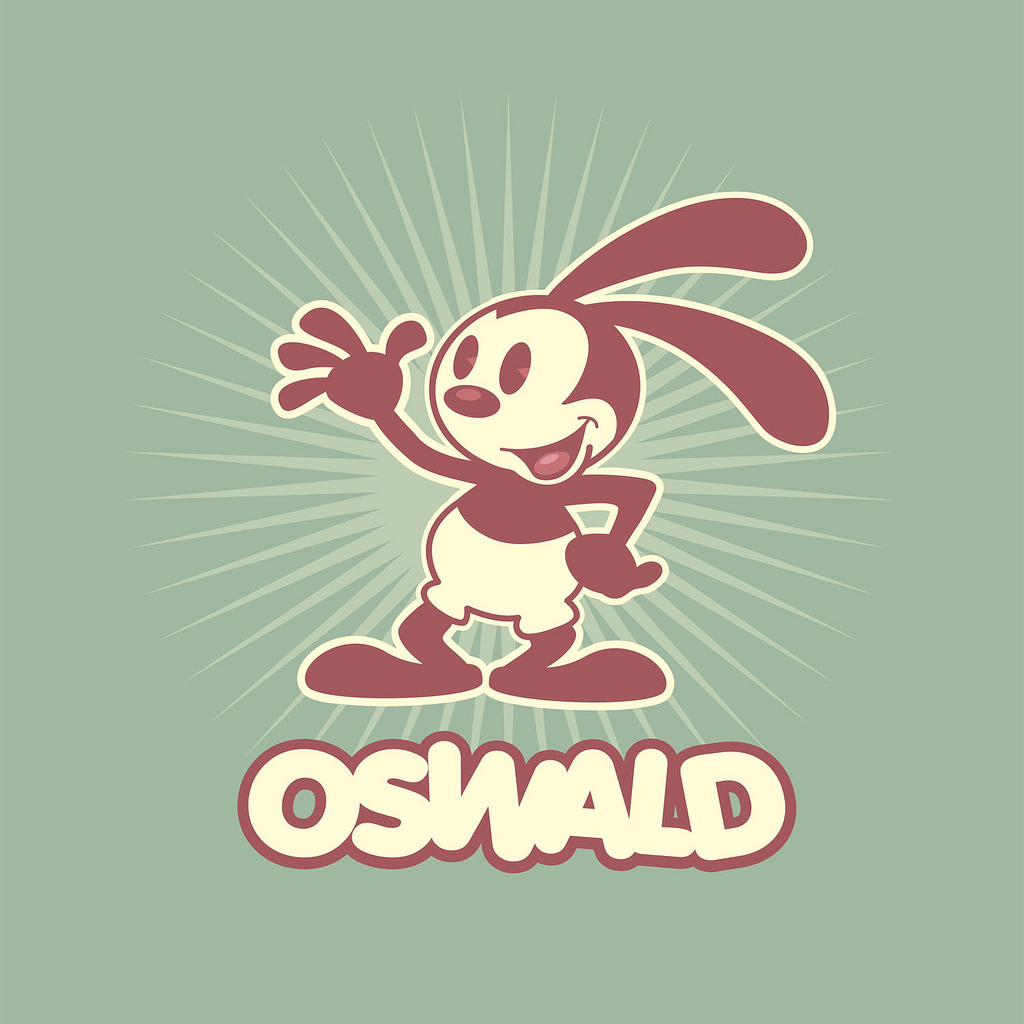 oswald the lucky rabbit coloring pages