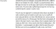 Jennette biography - fb