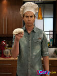 Spencer with dough