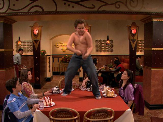File:Gibby dances without his shirt.JPG