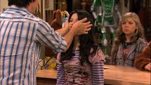 Miranda's cheeks