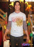 Spencer messy shirt