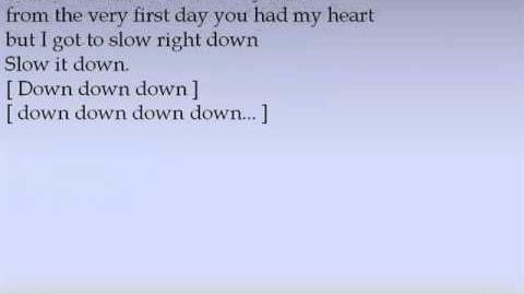 Amy MacDonald - Slow it down Lyrics