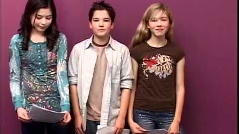 Very Early iCarly AUDITION!