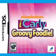 Icarly- groovy foodie front of box