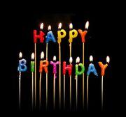 Happy birthday candles-2010