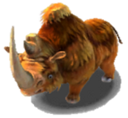 Wooly Rhino Ice Age Village