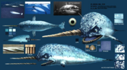 Narwhals concept art