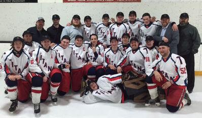 2016 Noralta JHL B champs Morinville Titans