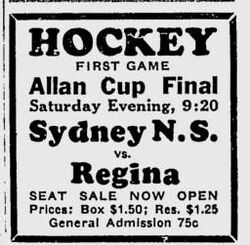 1941AllanCup1stGameCalgary