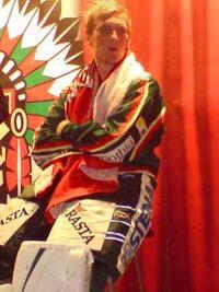 Ari Ahonen, finish icehockeygoalkeeper