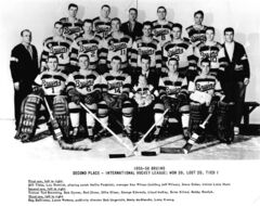 Troy Bruins Team Photo 1955-56