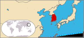 Locator map of South Korea2