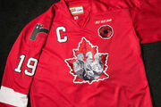 2015 Memorial Cup Commemorative jersey