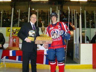 Shane Luke (2011 Lorne Lyndon for Hockey Ability & Sportsmanship)