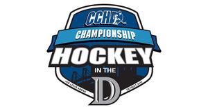 2012 CCHA Tournament logo