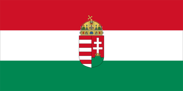 File:Flag of Hungary with arms (state).png