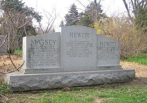 Hewitt tombstone