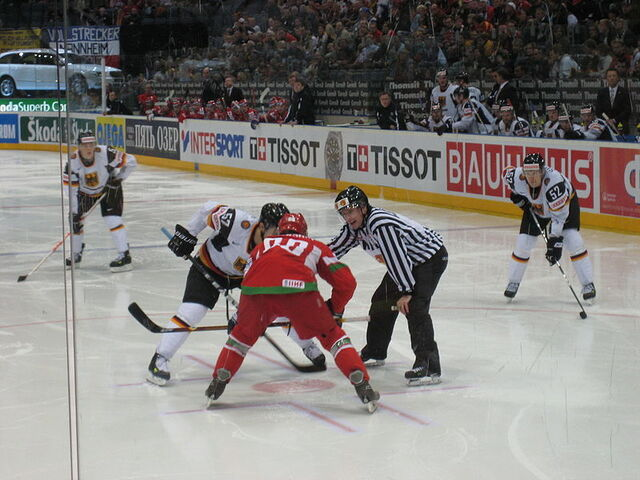 File:Germay-Belarus-2010-Hockey-World-Cup-Face-Off.JPG