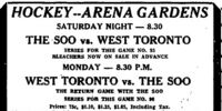 1929-30 Eastern Canada Memorial Cup Playoffs