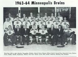 Minneapolis Bruins 1963-1964 Team Photo