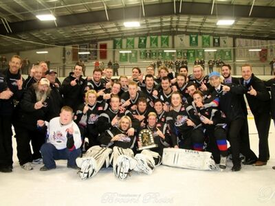 2016 SOJHL champs Dorchester Dolphins
