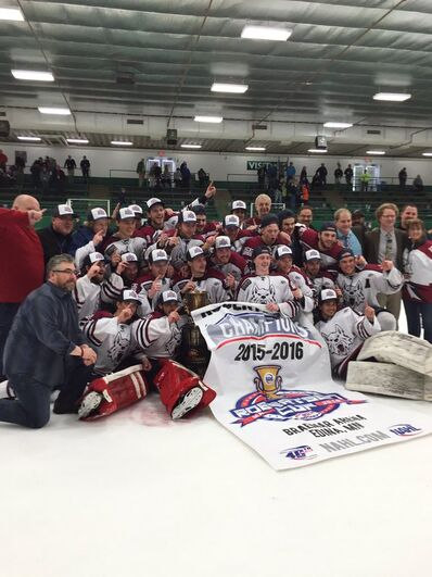 2016 NAHL champions Fairbanks Ice Dogs